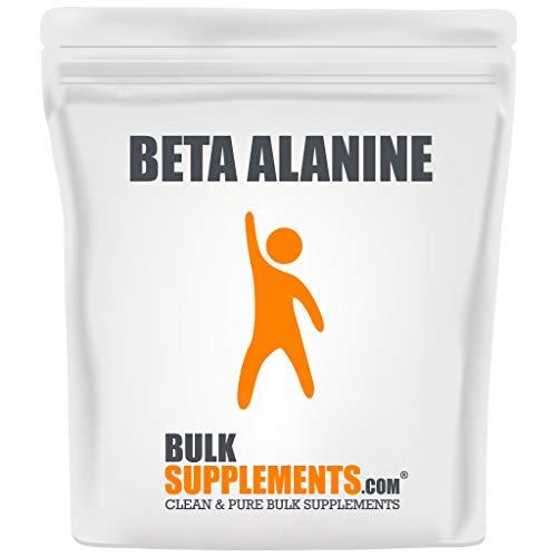 BulkSupplements.com Beta Alanine - Vegan Pre Workout - Beta Alanine Powder - Pre Workout Supplement (500 Grams - 1.1 lbs)