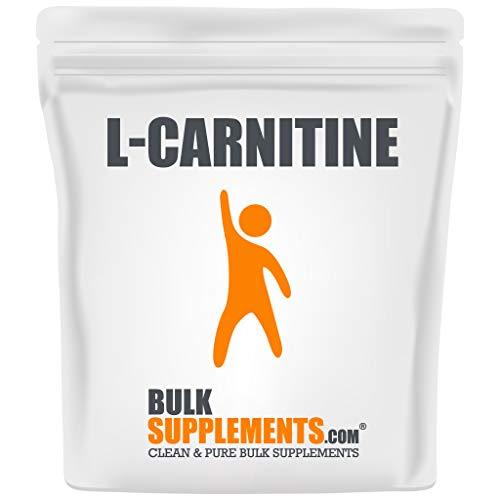 BulkSupplements.com L-Carnitine Powder - Amino Acids Supplement - Fat Burner Supplements - Pre Workout - L Carnitine Powder (500 Grams - 1.1 lbs)