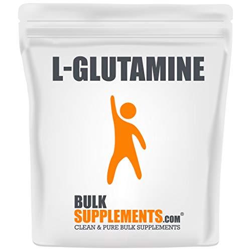 BulkSupplements.com L-Glutamine - BCAA Powder - Glutamine Supplement (1 Kilogram - 2.2 lbs)
