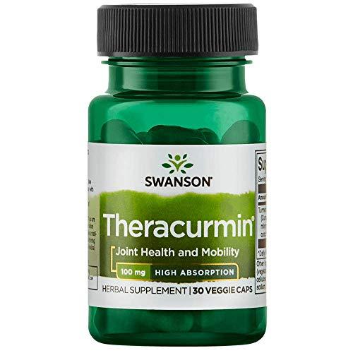 Swanson High Absorption Theracurmin 100 Milligrams 30 Veg Capsules
