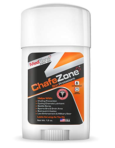 Anti Chafing Stick: Superior formula glides on to prevent chafing, rubbing and blisters in cycling, swimming, running, hiking and more: Great for triathletes, weekend warriors or team athletes