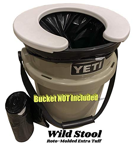 Wild Stool for YETI Load Out & All 5 Gallon Buckets (tan)