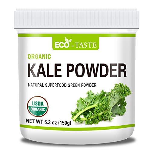 Organic Kale Powder, 100% Natural Kale, Raw, Non GMO, Gluten Free, Vegan Friendly