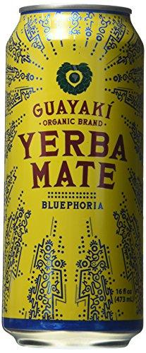 Organic Yerba Mate, Bluephoria, 16 Ounce (Pack of 12)