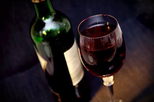 health benefits of drinking red wine before going to bed