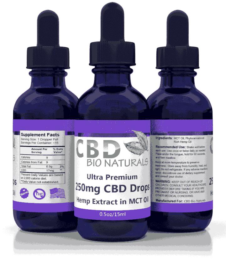 CBD tincture product benefits