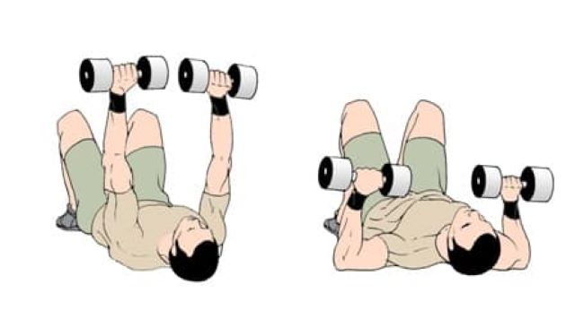 Dumbbell Floor Press Benefits & How To