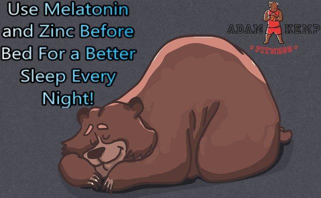 benefits of taking zinc for sleep