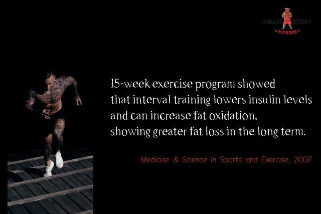 HIIT workout benefits