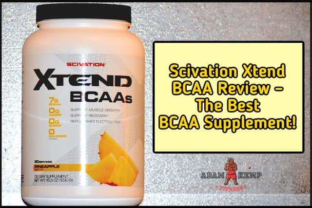 My Scivation Xtend BCAA Product Review